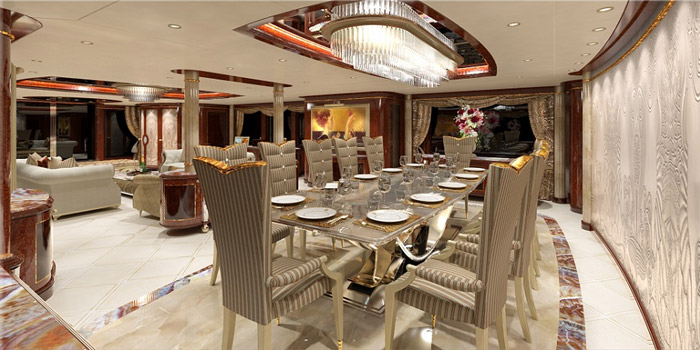 Luxury Yacht Interior Designers.