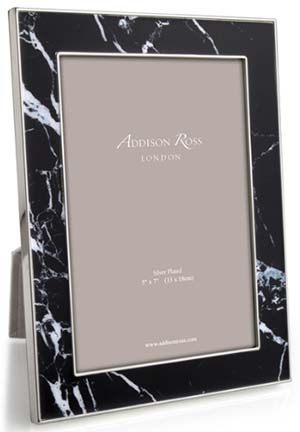 Addison Ross 8×10 Black Marble Enamelled Frame: £56.75.
