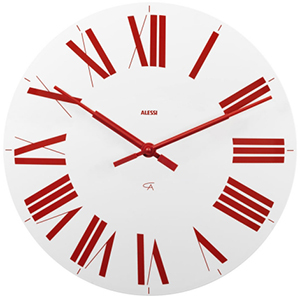 Alessi Firenze wall clock.