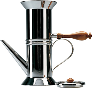 Alessi Neapolitan coffee maker: US$520.