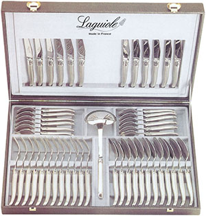 Laguiole Canteen of cutlery Laguiole 49 pieces: €4,188.