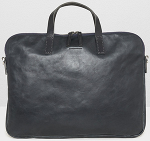 Ally Capellino Gaudi Leather Folio Bag In Black: £449.