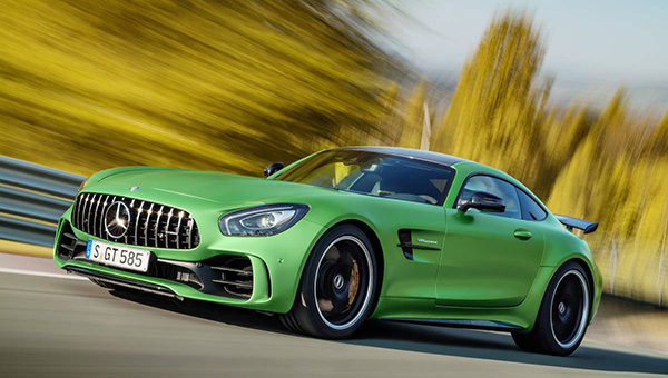 Mercedes-AMG GT R (2018) - 'The nastiest version of the AMG GT to date'.