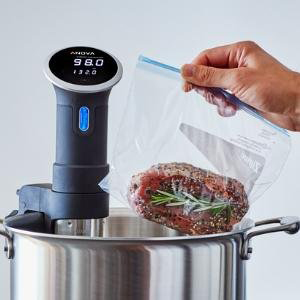 Anova Culinary Bluetooth Sous Vide Precision Cooker, 800 Watts, Black: US109.