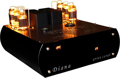 Aries Cerat Diana Tube Integrated Amplifier.