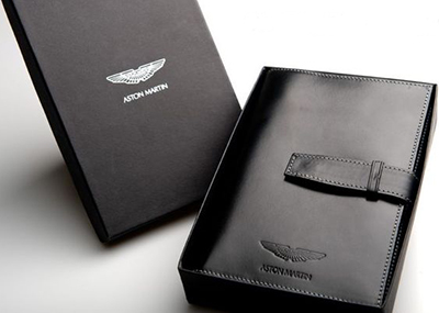 Aston Martin Leather Personal Organiser: £98.
