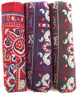 Barbour men's Paisley Handkerchiefs - Boxed Set.