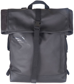 Barbour women's B.Intl Rubberised Backpack.