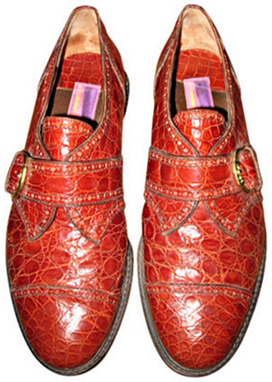 Susan Bennis/Warren Edwards Men's Alligator Shoes.