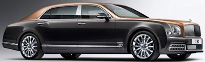 Bentley Mulsanne Extended Wheelbase.