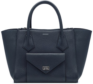 Anine Bing Madison Handbag - Midnight Navy: US$1,099.