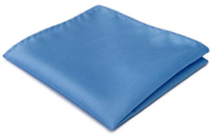 Blackpier Light Blue Handkerchief: £7.50.