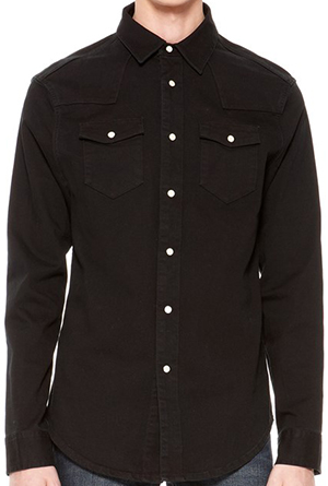 BLK DNM Men's Jeans Shirt 5 Marshall Black: US$215.