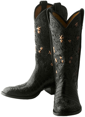 The Bohlin Co. men's Limited Edition Star Cowboy Boots.