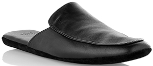 Smooth leather slippers 'Homion' by BOSS.