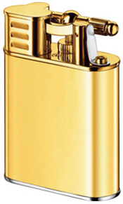 Turbo Untreated Brass lighter.