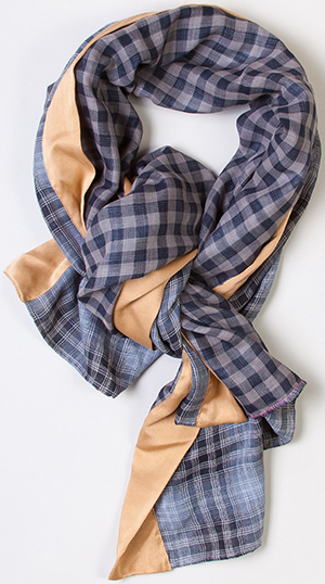 Brook There Organic Cotton and Silk Autumn Women's Scarf: US$118.