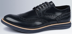 Bugatchi Manarola Leather Brogue: US$330.