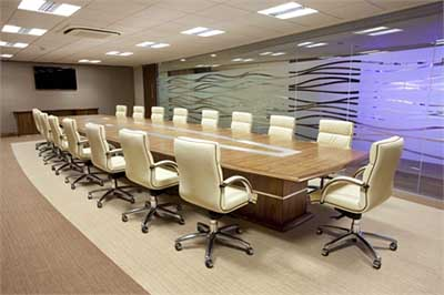 Calibre bespoke conference table.