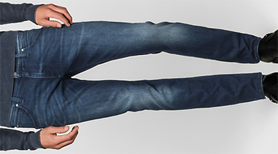 Calvin Klein Sculpted Slim Men's Jeans: £115.