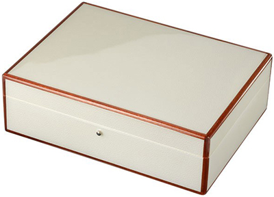 Nina Campbell Jewellery Box White Stingray: £230.