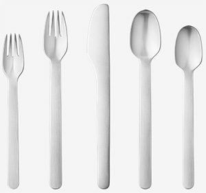 Louise Campbell 5-Piece Cutlery Set for Georg Jensen: US$95.