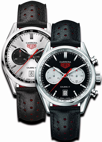 Carrera Calibre 17 Panda Silver & Black.