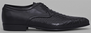 Roberto Cavalli Men's Derby Shoes with Python Detail: £400.