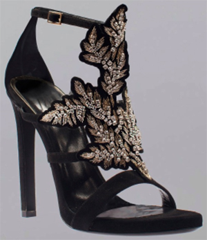 Roberto Cavalli Women's Sandals with Thin 11.5cm Heel: £650.