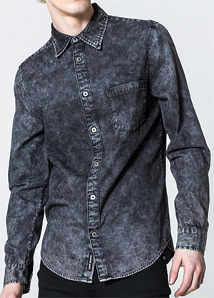 Cheap Monday Rude Denim Shirt: £60.
