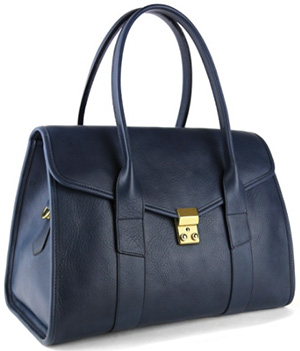 Frank Clegg Signature Lock Satchel: US$950.