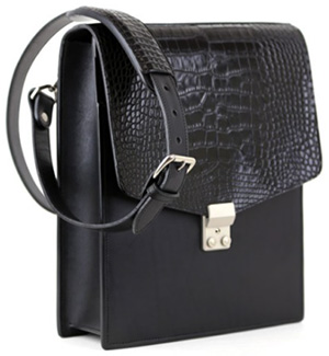 Frank Clegg Executive Alligator Satchel: US$1,550.