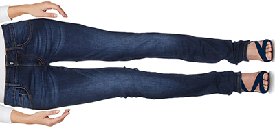 C'N'C' Costume National Denim Pants: US$245.