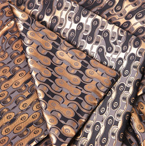 Dashing Tweeds Silk Scarves Screen Printed in London: £160.