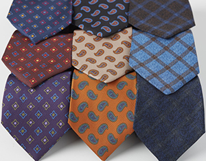 Davies & Son silk ties.