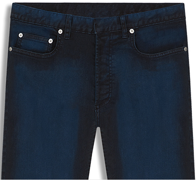 Dior Washed Midnight Blue Stretch Cotton Jeans: £460.