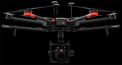 DJI Matrice 600 M600 drone offers muscles for pro filmmakers: US$4,600.