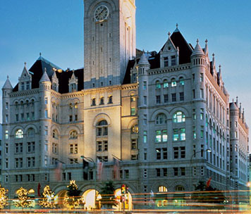 Trump International Hotel, 1100 Pennsylvania Avenue NW, Washington, DC 20004.