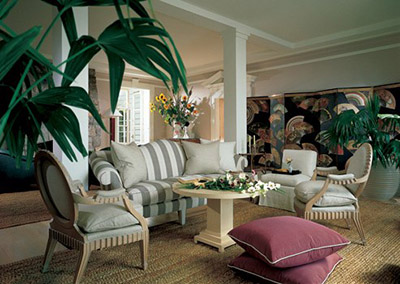 Angelo Donghia - The interior designer introduced tailored elegance and inventive materials.
