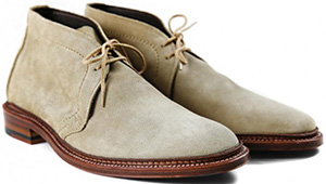 Drake's Alden Unlined Tan Suede Flex Sole Chukka: £495.