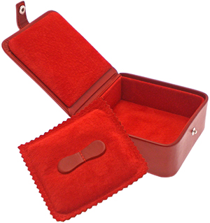 Ettinger Lifestyle Red Medium Stud or Jewellery Box: £105.