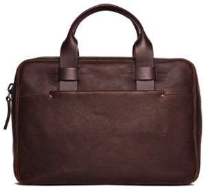 Timothy Everest Troubadour Brown Slim Briefcase: £650.