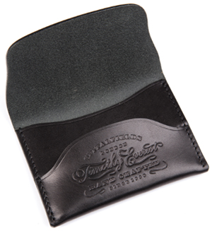 Timothy Everest Black Business Card Holder: £50.