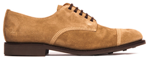 Timothy Everest Limited Edition Sanders Japan Dirty Buck Suede Military Cap Toe Derby: £213.