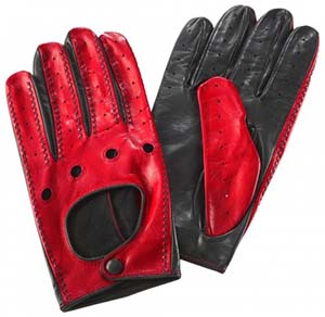 Ferrari Cavallino Rampante Driving Men's Gloves: US$270.