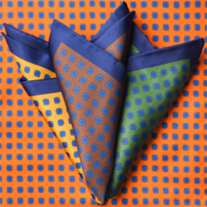 Fiorio Milano pocket scarves.