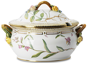 Flora Danica Vintage Covered Tureen.