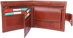 Florence Leather Wallet for man: €43.92.