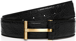 Tom Ford T Buckle Belt: US$1,670.