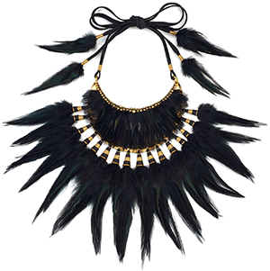 Tom Ford Tribal Feather Necklace: US$4,490.
